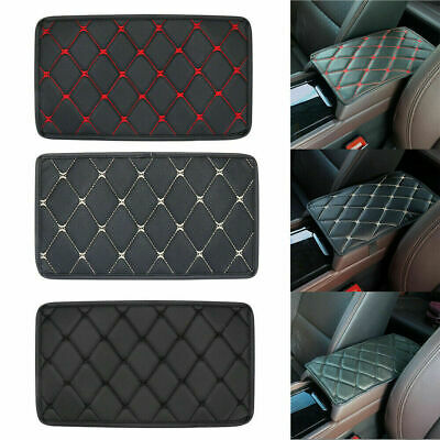 Auto Armrest Pad Cover Center Console Box PU Leather Cushion Mat Car Accessories • 5.16£
