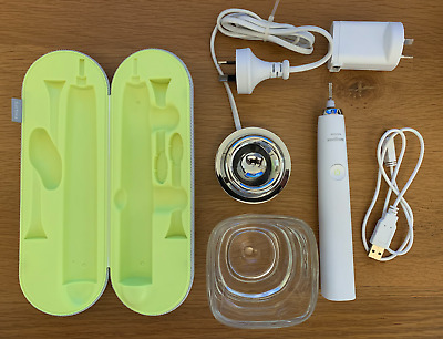 AU99 • Buy Philips Sonicare Diamond Clean HX9340 Toothbrush Charger Glass Travel Case - In