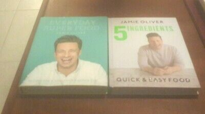 AU29.99 • Buy X2 Jamie Oliver Set 5 Ingredients Quick & Easy Food Everyday Superfood Hardcover