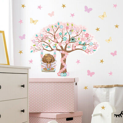 £14.95 • Buy Fairy Wall Stickers, Wall Decals, Magical Blossom Tree Fairy FARY.8