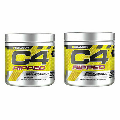AU64.47 • Buy SPONSORED Cellucor C4 60 Servings RIPPED Pre WORKOUT **2 PACK** ULTRA FROST