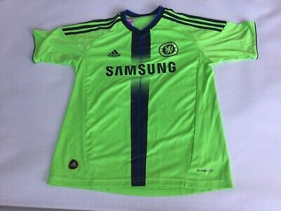 Boys Child's Chelsea Away S/s Football Shirt Jersey Size Age 11-12 Years Vgc • 9.99£