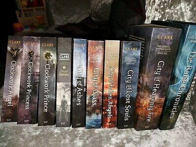 The Mortal Instruments 6 Book Collection Plus Bane Chronicles  • 20£
