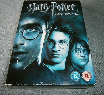 $ CDN38.56 • Buy Harry Potter The Complete 8 Film Collection DVD, 2011, 8-Disc Box Set Region 2