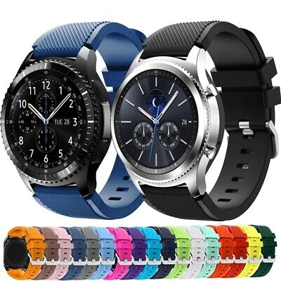 AU4.95 • Buy Samsung Gear S3 Frontier Classic Fashion Sports Silicone Bracelet Strap Band