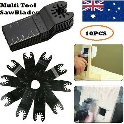 AU14.97 • Buy 10 Pcs Oscillating Multi Tool Saw Blades Set Kit For Renovator Air Power Tool
