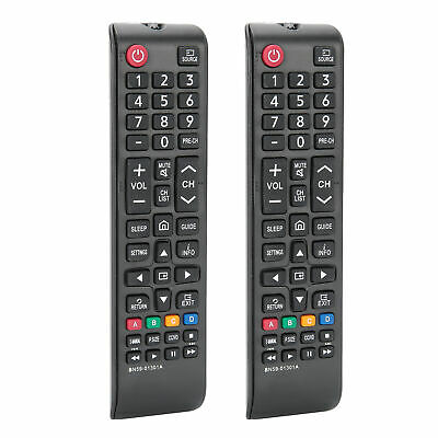 $ CDN14.48 • Buy 2PC BN59-01301A Remote Control Replacement ForSAMSUNG Television Remote Control