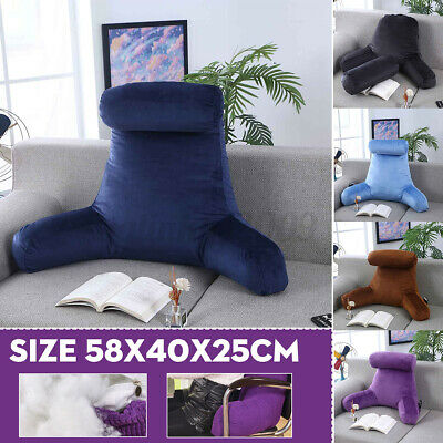 AU37.99 • Buy Lounger Bed Rest Lumbar Pillow Back Support Home Car Office Sofa Chair Cushion