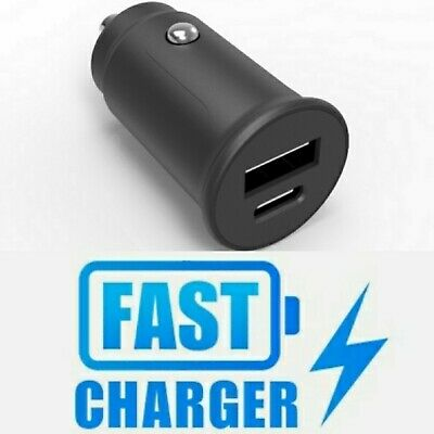 $ CDN8.69 • Buy 30W Fast Charging Car Charger USB Type-C PD Charger 4.0 USB-A QC 3.0.....