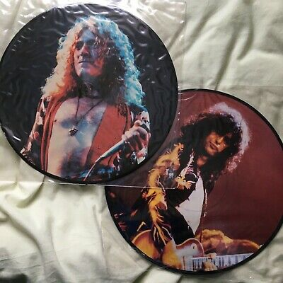 Led Zeppelin Ramble Two - Interview Picture Disc  - Page And Plant In Australia • 38£