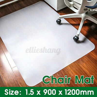 AU28.13 • Buy Office Chair Mat For Carpet Computer Gaming Work Desk Hard Floor Protector Pads