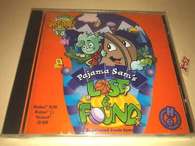 PAJAMA SAMs Lost And Found PC CD-ROM Game Junior Arcade For Kids 3-8  • 12.87£