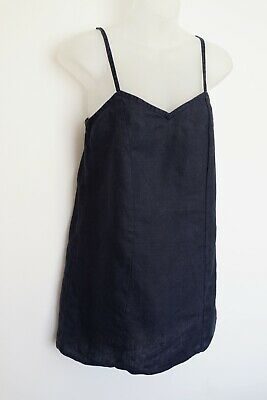 AU40.50 • Buy Sir The Label Dark Blue 'linen' Sleeveless Top…size Womens 0…vgc...