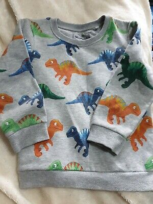 Boys Bluezoo Dinosaur Jumper/Sweater Age 4-5 Years  • 1.20£
