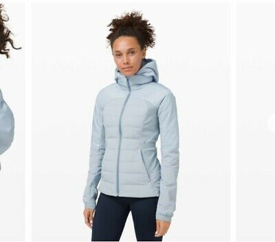 $ CDN210 • Buy NWT Lululemon Down For It All Jacket~Chambray~Size 10