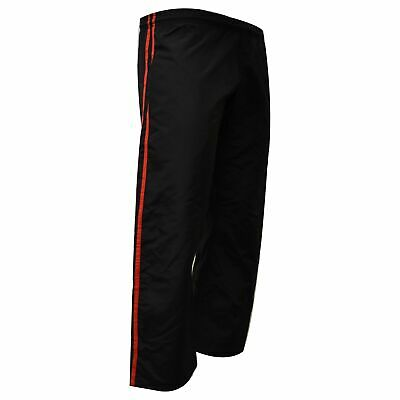 $19.95 • Buy Demo Karate Pant Black With Red Stripe MMA Boxing Muay Thai Martial Arts