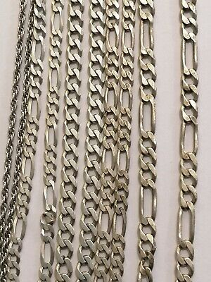 $ CDN195.66 • Buy Lot Of Sterling Silver 925 Italy 5 Necklace