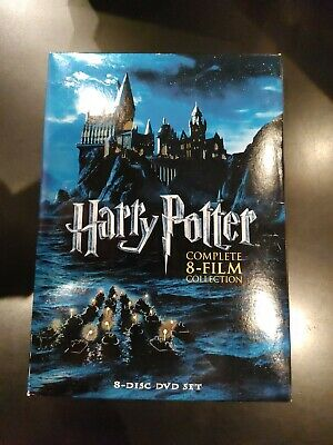 $ CDN45 • Buy Harry Potter: Complete 8-Film Collection (DVD, 2011, 8-Disc Set)