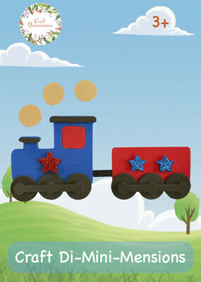 £4.99 • Buy Train Craft Foam Handmade Card Kit For Young Children.makes 5. Age 3+