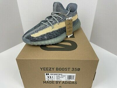 $ CDN330.72 • Buy Size 11.5 - Adidas Yeezy Boost 350 V2 Ash Blue - New In Hand - Style GY7657