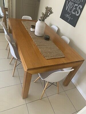AU200 • Buy Rectangular Solid Wood Dining Table
