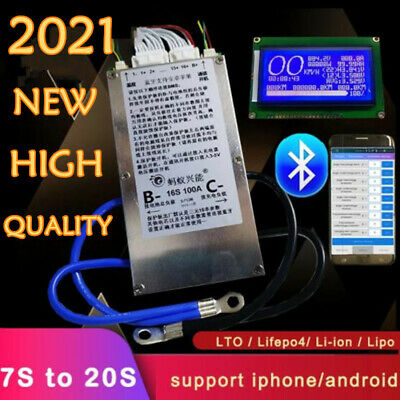 AU120.75 • Buy Smart 7S To 20S ANT Lifepo4 Li-ion Lipo LTO Battery Protection Board BMS 48V 72V