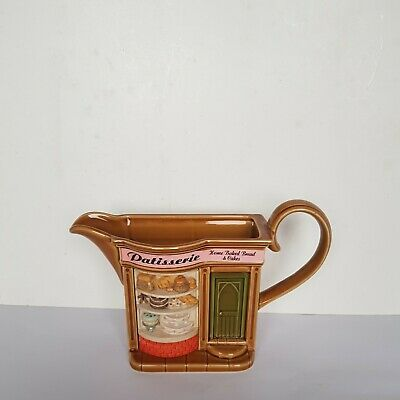 £8.49 • Buy PARK ROSE POTTERY PATISSERIE SHOP JUG Bridlington Made In England Brown Glazzed
