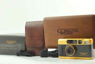 $ CDN2664.26 • Buy 【Brand New Perfect】 Contax T2 Gold 60 Years Limited Edition Film Came From Japan