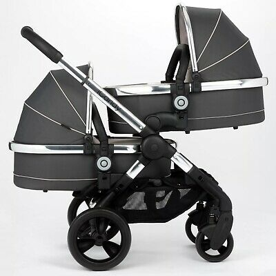 Icandy Peach Truffle Pram Travel System Twin Or Single Good Used Condition • 230£