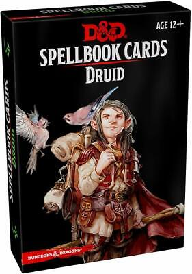 AU25.44 • Buy Druid Spellbook Spell Cards Gale Force 9 GF9 5E RPG DnD Dungeons Dragons D20