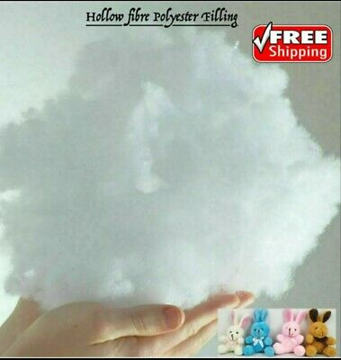 £10.90 • Buy 2  Kg  Hollowfibre Polyester Filling Soft Stuffing Toy  Cushion Pillow