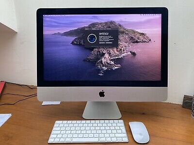 "Apple IMac 21.5"" Desktop Late 2015 8GB 3.1GHz Intel Core I5. Exc Cond. Orig Box. • 285£"