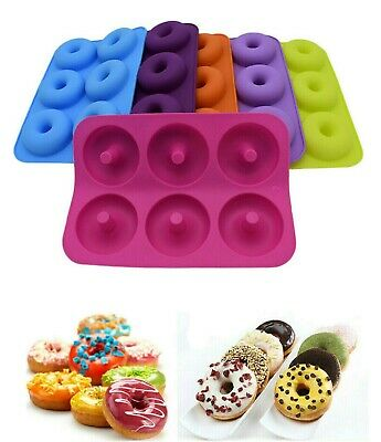 AU9.90 • Buy Silicone Donut Mold Cupcake Muffin Baking Mold Tray