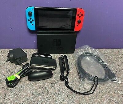 AU160.50 • Buy Nintendo Switch Neon Console 32GB Working