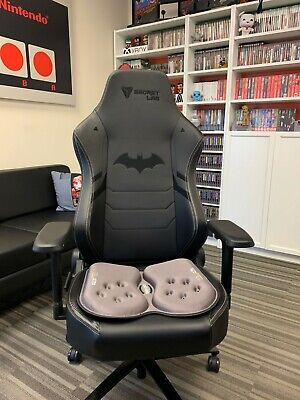 THE ULTIMATE Gaming GSeat Gel Foam Seat Cushion,Office, Gaming Back Pain Relief • 59.99£