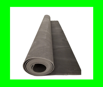 £55.99 • Buy Soundproofing Mat 3m By 1.25m By 2mm MLV 3.75sqm Thin 5kg/m2 Mass Loaded Vinyl