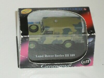 Diecast Model 1:72 Scale: LAND ROVER Series III 109 Army Camouflage Oxford BOX  • 3£