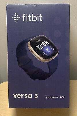 $ CDN247.08 • Buy BRAND NEW-Fitbit Versa 3 Health & Fitness Smartwatch With GPS, 24/7 Heart Rate