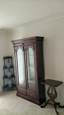 AU1850 • Buy 3pcs Mahogany Bookcase/dosplay Cabinet,sidetable,corner