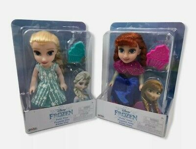 Disney Frozen Petite Anna & Elsa Toddler Dolls New Come Play With Me 2  • 27.99£