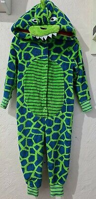 Debenhams Bluezoo Soft Fleece/ Fur Dinosaur All In One. Age 2-3. Great Condition • 5£