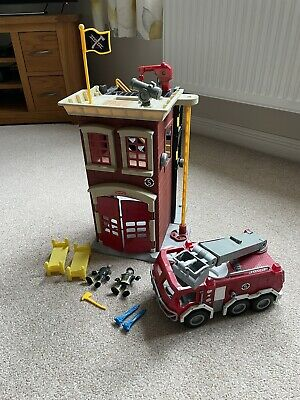 Fisher Price Imaginext Fire Station And Fire Engine • 20£