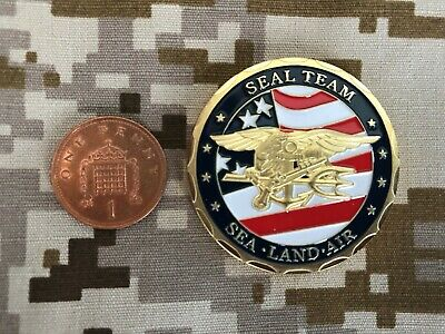 £6.99 • Buy Seal Team Special Forces  Military Challenge Coin