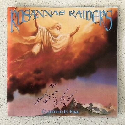 AU30 • Buy ROSANNAS RAIDERS Clothed In Fire Cd Signed