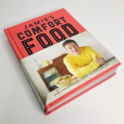 AU33 • Buy JAMIE'S COMFORT FOOD - Jamie Oliver (2014) 100 Recipes - Celebrity Chef Cookbook