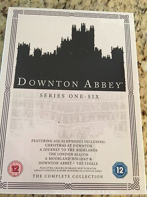 DOWNTON ABBEY - THE COMPLETE COLLECTION Series 1,2,3,4,5,6 NEW SEALED • 10.99£