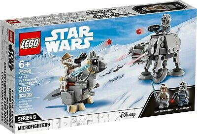 AU32 • Buy LEGO 75298 Star Wars: AT-AT Vs Tauntaun Microfighters - Brand New In Sealed Box