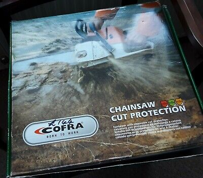 Cofra Power Chainsaw Safety Leather Boots Class 2 New In Box UK Size 8 • 32£