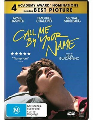 AU15.74 • Buy Call Me By Your Name DVD