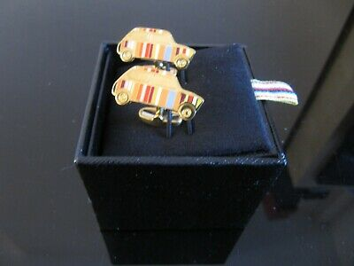 £30 • Buy Authentic Paul Smith Gold Plated Signature Mini Cufflinks New Box